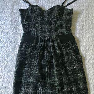 Dresses & Skirts - Dark pattern corset spaghetti strap dress